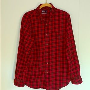 Chaps Flannel Long Sleeve Shirt